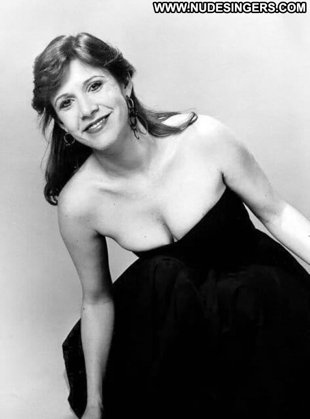 Carrie Fisher No Source Beautiful Boobs Big Tits Posing Hot Babe